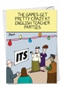 Hysterical Birthday Card From NobleWorksInc.com - English Teacher Party