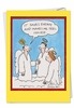 Humorous Birthday Card From NobleWorksInc.com - Feel Holier