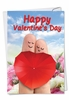 Humorous Valentine's Day Card From NobleWorksInc.com - Finger Couple