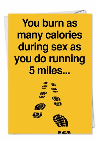 Hysterical Birthday Card From NobleWorksInc.com - Five Miles