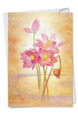 Artful Mother's Day Card From NobleWorksInc.com - Floral Harmony