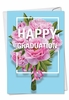 Artful Graduation Card From NobleWorksInc.com - Flowers for Grad
