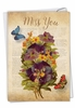 Beautiful Miss You Card From NobleWorksInc.com - Fluttering Words