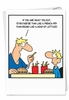 Humorous Birthday Father Card From NobleWorksInc.com - French Fry Logic