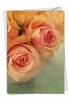 Artistic Sympathy Card From NobleWorksInc.com - Full Blooms