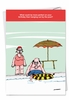 Hysterical Birthday Card From NobleWorksInc.com - Hanging By The Pool