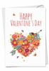 Artful Valentine's Day Card From NobleWorksInc.com - Heart Bouquet