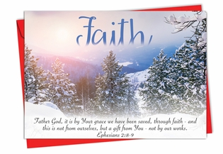 Artistic Christmas Card From NobleWorksInc.com - Holiday Devotions