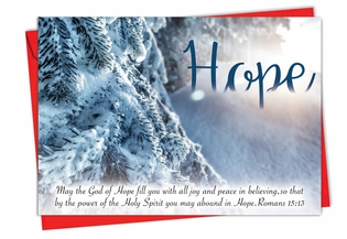 Artful Christmas Card From NobleWorksInc.com - Holiday Devotions