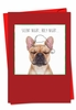 Artistic Christmas Card From NobleWorksInc.com - Holiday Dogs & Doodles