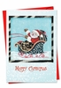 Artistic Christmas Card From NobleWorksInc.com - Holiday Hides