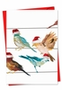 Beautiful Christmas Card From NobleWorksInc.com - High Wire Birds