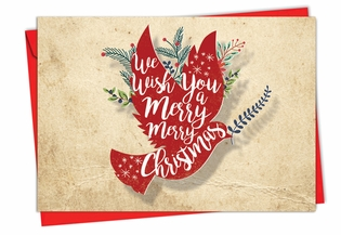 Beautiful Christmas Card From NobleWorksInc.com - Holiday Knockout