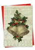 Artful Christmas Card From NobleWorksInc.com - Holly Notes