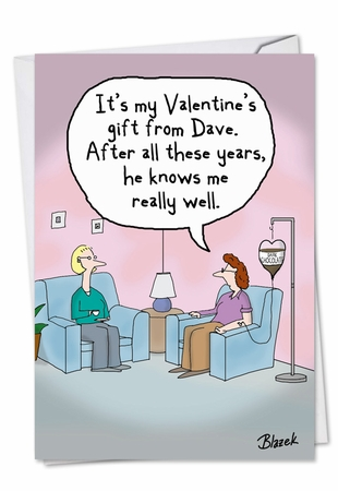 Hysterical Valentine's Day Card From NobleWorksInc.com - Intravenous Chocolate