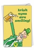 Humorous St. Patrick's Day Card From NobleWorksInc.com - Irish Eyes Are Smiling