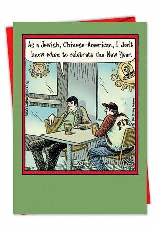 Hilarious New Year Card From NobleWorksInc.com - Jewish Chinese American