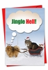 Hysterical Christmas Card From NobleWorksInc.com - Jingle Hell