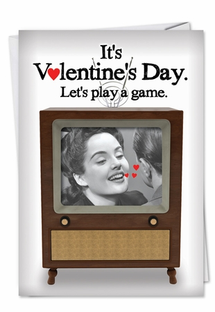 Funny Valentine's Day Card From NobleWorksInc.com - Just the Tip