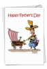 Humorous Father's Day Card From NobleWorksInc.com - L'il Buckaroo