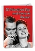Hilarious Valentine's Day Card From NobleWorksInc.com - Love In The Air