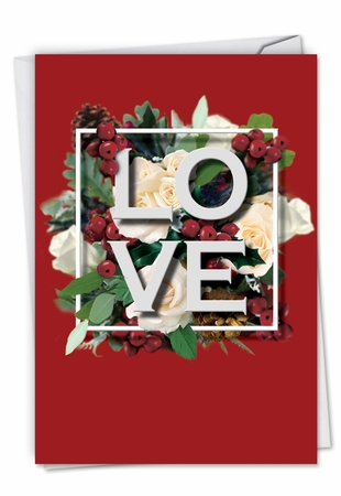 Beautiful Valentine's Day Card From NobleWorksInc.com - Love Squared