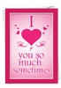 Hilarious Valentine's Day Card From NobleWorksInc.com - Love You So Much