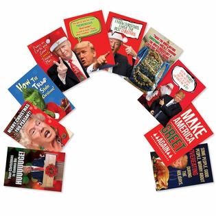 Hysterical Merry Christmas Assorted Cards From NobleWorksInc.com - Make America Greet Again