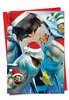 Artistic Christmas Card From NobleWorksInc.com - Merry Christmas to Zoo