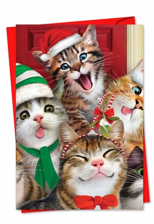 Beautiful Christmas Card From NobleWorksInc.com - Merry Christmas to Zoo