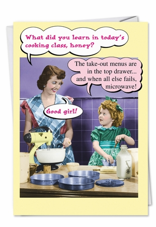 Hysterical Birthday Mother Card From NobleWorksInc.com - Microwave and Takeout Menus