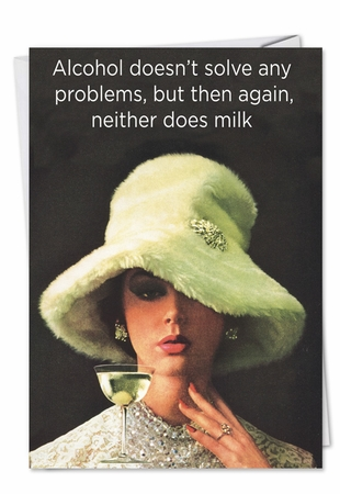Hilarious Birthday Card From NobleWorksInc.com - Milk and Alcohol