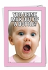 Humorous Congratulations Card From NobleWorksInc.com - Milk Out of Bottle Girl