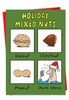 Humorous Christmas Card From NobleWorksInc.com - Mixed Nuts
