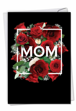 Artful Mother's Day Card From NobleWorksInc.com - Mom Squared