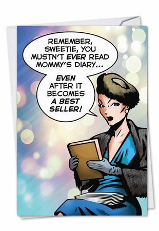 Hilarious Mother's Day Card From NobleWorksInc.com - Mommy's Diary
