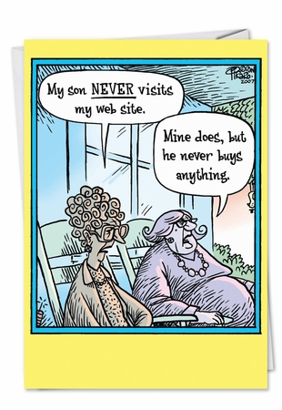 Hysterical Birthday Mother Card From NobleWorksInc.com - Moms Website Shopping