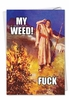 Hilarious Birthday Card From NobleWorksInc.com - Moses' Weed