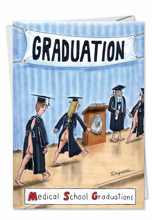 Hysterical Graduation Card From NobleWorksInc.com - MSG