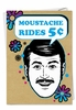 Hilarious Birthday Card From NobleWorksInc.com - Mustache Man