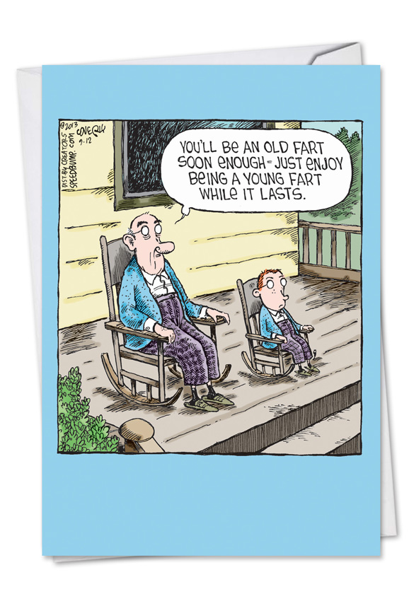 old fart birthday Unique Hilarious Old Fart Young Fart Birthday Card Dave Coverly old fart birthday