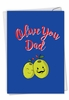 Hysterical Father's Day Card From NobleWorksInc.com - Olive You Dad