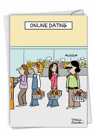 Hilarious Valentine's Day Card From NobleWorksInc.com - Online Dating