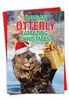 Hysterical Merry Christmas Card From NobleWorksInc.com - Otterly Amazing Christmas