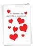 Funny Valentine's Day Card From NobleWorksInc.com - Over and Over