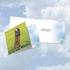 Funny All Occasions Square-Top Card From NobleWorksInc.com - Paws and Prayers Blinker