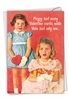 Funny Valentine's Day Card From NobleWorksInc.com - Peggy Is a Whore