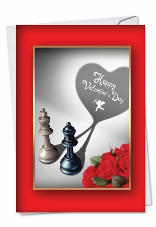 Hysterical Valentine's Day Card From NobleWorksInc.com - Pieces of Heart