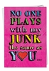 Humorous Valentine's Day Card From NobleWorksInc.com - Plays With My Junk