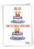 Humorous Birthday Card From NobleWorksInc.com - Pro Tip